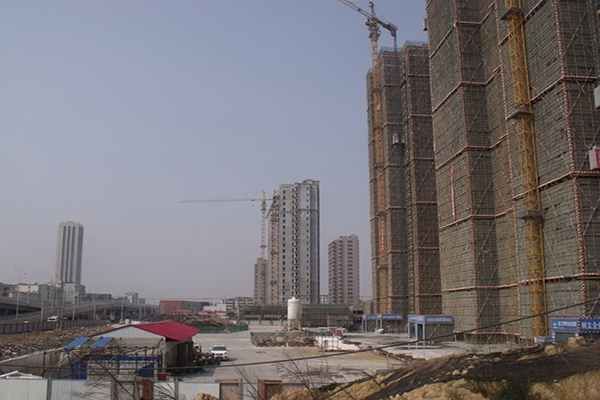 江西成超建筑 新溪桥安置房项目